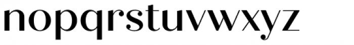 Quiche Display Medium Font LOWERCASE