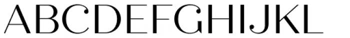 Quiche Display Regular Font UPPERCASE