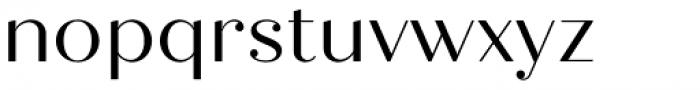 Quiche Display Regular Font LOWERCASE