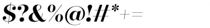 Quiche Fine Bold Italic Font OTHER CHARS