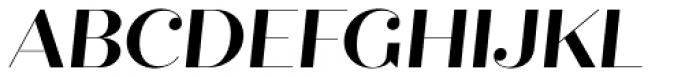 Quiche Fine Bold Italic Font UPPERCASE