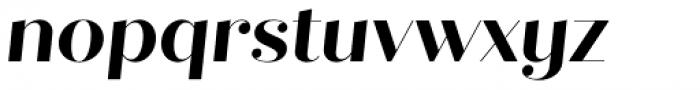 Quiche Fine Bold Italic Font LOWERCASE