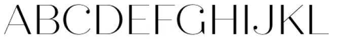 Quiche Fine Light Font UPPERCASE
