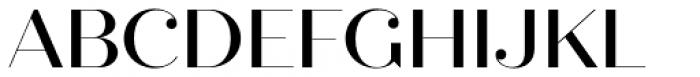 Quiche Fine Medium Font UPPERCASE