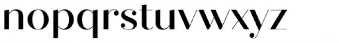 Quiche Fine Medium Font LOWERCASE