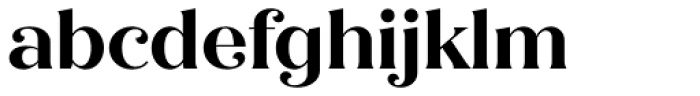 Quiche Flare Bold Font LOWERCASE