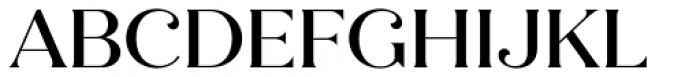 Quiche Flare Medium Font UPPERCASE