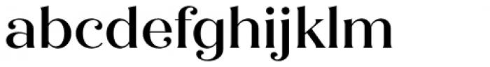 Quiche Flare Medium Font LOWERCASE