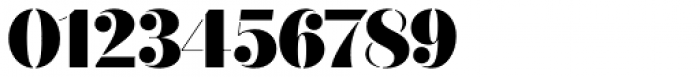 Quiche Stencil Black Font OTHER CHARS