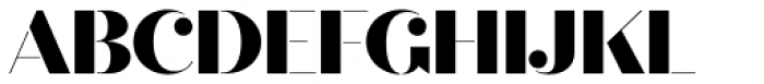 Quiche Stencil Black Font UPPERCASE