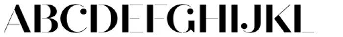 Quiche Stencil Bold Font UPPERCASE