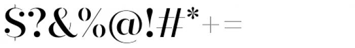 Quiche Stencil Medium Font OTHER CHARS