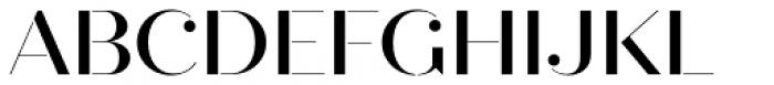 Quiche Stencil Medium Font UPPERCASE