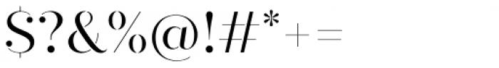 Quiche Stencil Regular Font OTHER CHARS