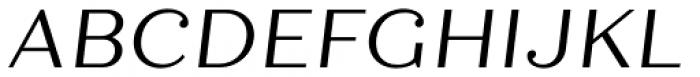 Quiche Text Italic Font UPPERCASE