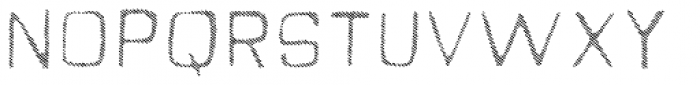 Quick Fix Lines Font UPPERCASE
