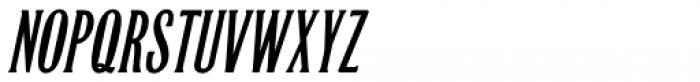Quick Meal Oblique Font LOWERCASE