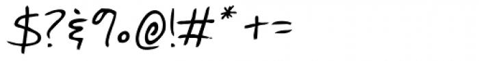 Quick Notation Font OTHER CHARS