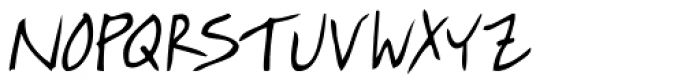 Quick Notation Font UPPERCASE