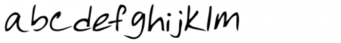 Quick Notation Font LOWERCASE