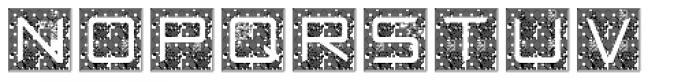 Quick Response JNL Font LOWERCASE
