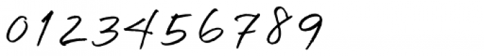 Quickpen Font OTHER CHARS