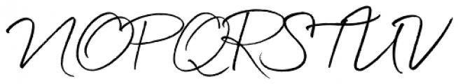 Quickpen Font UPPERCASE