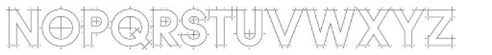 Quicksans Accurate ICG Font UPPERCASE