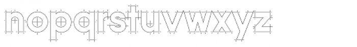 Quicksans Accurate ICG Font LOWERCASE