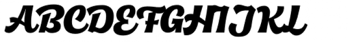 Quida Script Font UPPERCASE