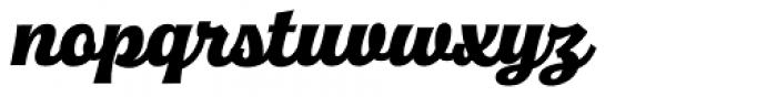 Quida Script Font LOWERCASE