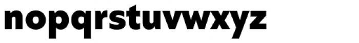 Quiet Sans Extra Bold Font LOWERCASE
