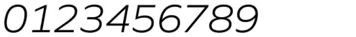 Quiet Sans Light Italic Font OTHER CHARS