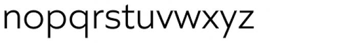 Quiet Sans Light Font LOWERCASE