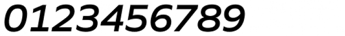 Quiet Sans Semi Bold Italic Font OTHER CHARS