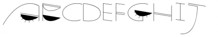 Quiet Time Font UPPERCASE