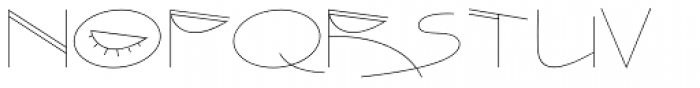 Quiet Time Font LOWERCASE
