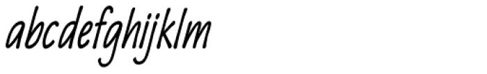Quiffed Bold Condense Oblique Font LOWERCASE
