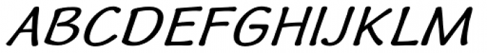 Quiffed Bold Expand Oblique Font UPPERCASE