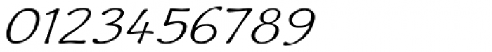 Quiffed Expand Oblique Font OTHER CHARS