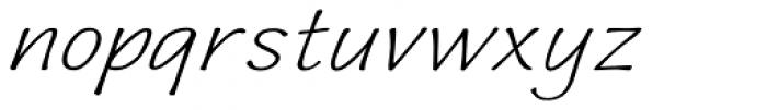 Quiffed Expand Oblique Font LOWERCASE