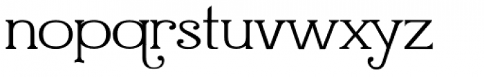 Quijibo Font LOWERCASE