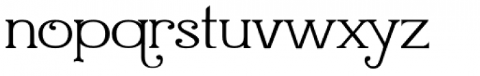 Quijiboquail Font LOWERCASE