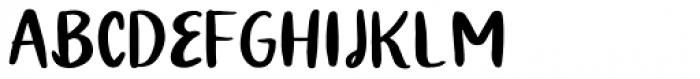 Quiky Regular Font UPPERCASE