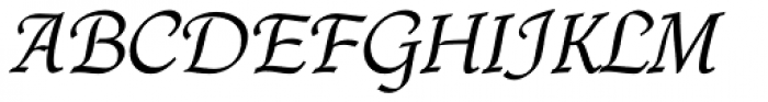 Quill Std Font UPPERCASE