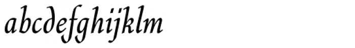 Quill Std Font LOWERCASE