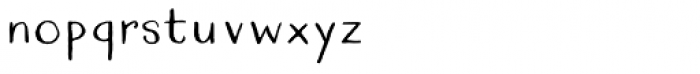 Quimbly Font LOWERCASE