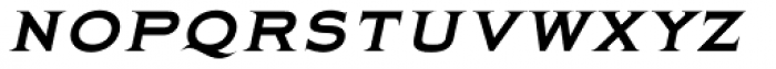 Quimby Italic Font LOWERCASE