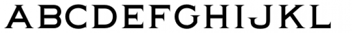 Quimby Font UPPERCASE