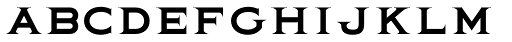 Quimby Font LOWERCASE